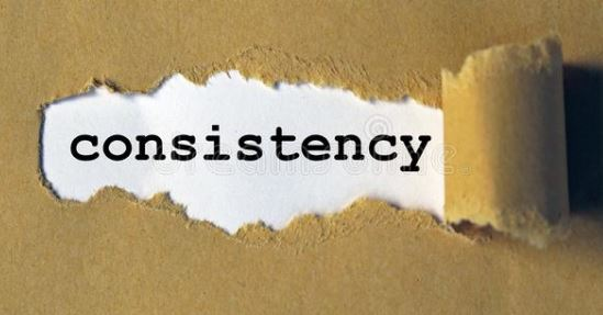 Consistency is the key for fitness