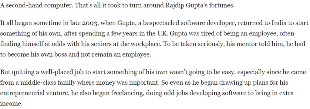 Route Mobile Rajdip Gupta