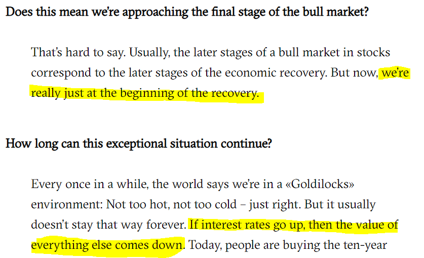 HOWARD MARKS ON MARKETS RIGHT NOW