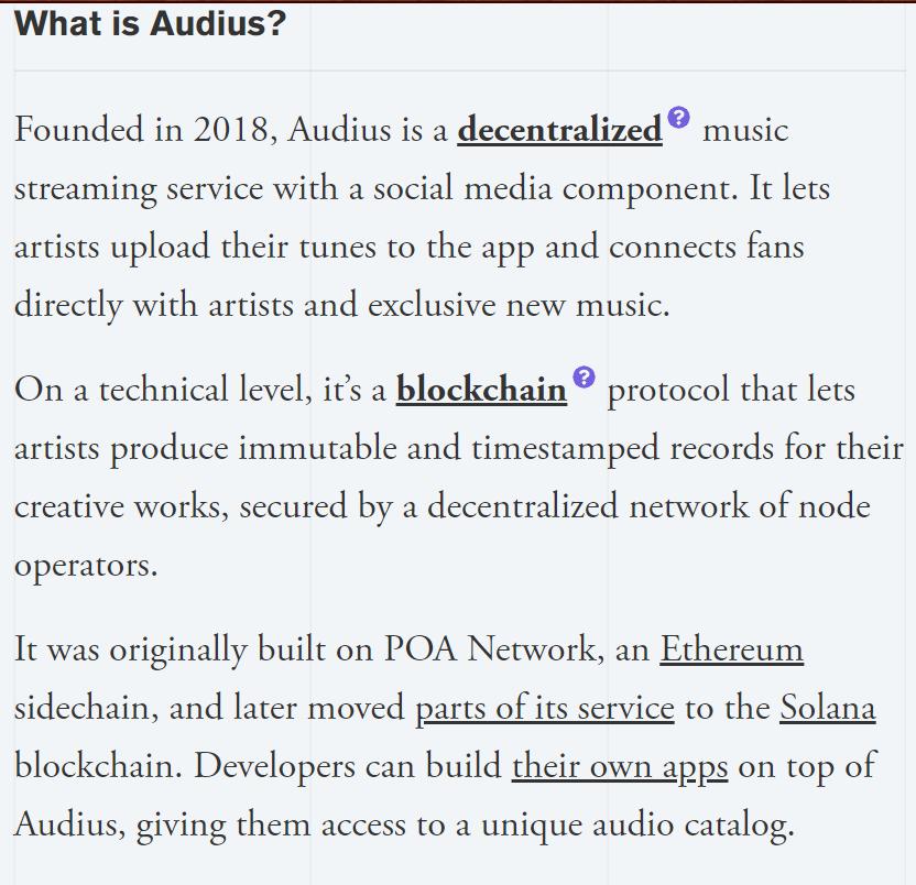 ITS AUDIUS : BLOCKCHAIN PROTOCOL ON MUSIC