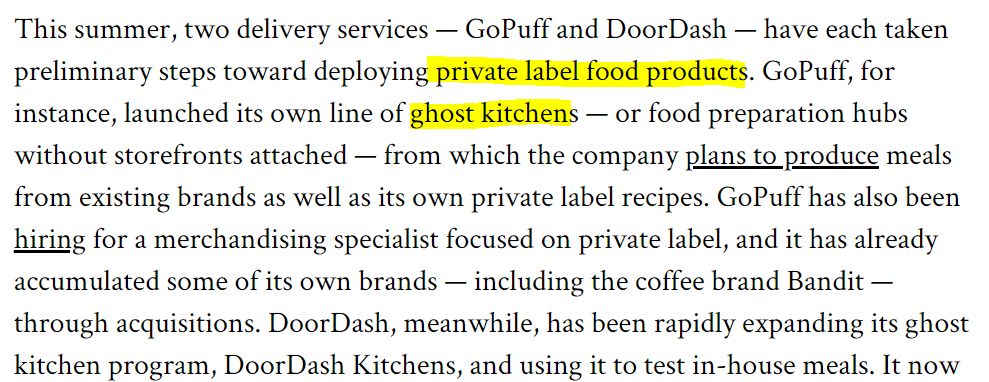 Private Labels : New trend